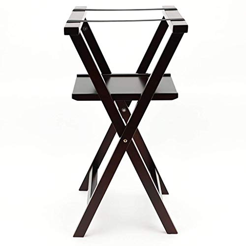 Lowest Prices! ASPRK Casual Home Luggage Rack, Walnut