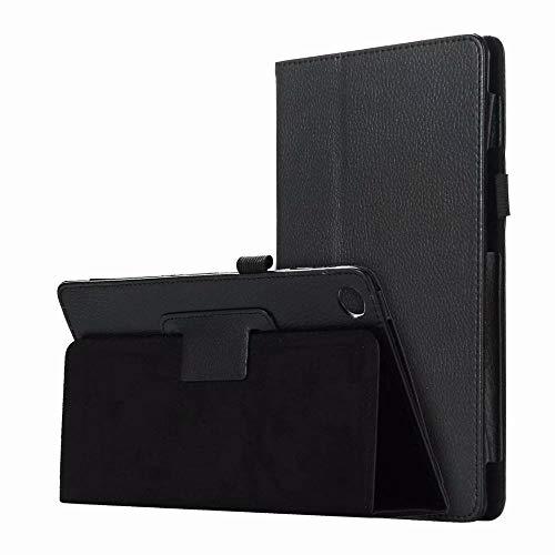 RZL Pad y Tab Fundas para Lenovo Tab P10 TB-X705L 10,1 Pulgadas, Cubierta de la Tableta del Soporte de la Caja del Soporte de la Caja del Cuero de la PU para Lenovo Tab P10 TB-X705L 10.1