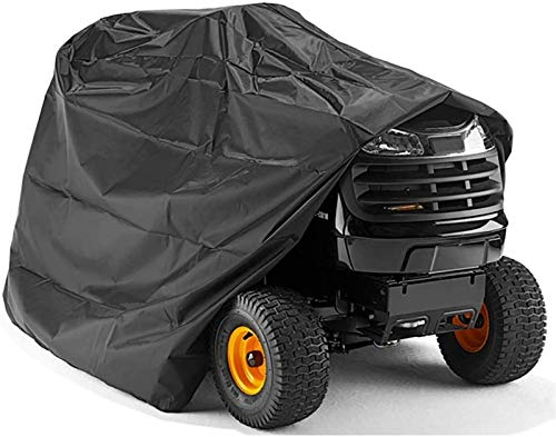 Cubierta para Tractor de césped, Duradera e Impermeable a Prueba de Lluvia 210D Oxford Garden Tractor Guard de Gran tamaño para Adaptarse a la Funda Protectora de la cortadora de césped (Color : L)