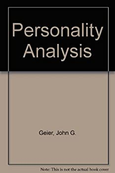 Paperback Personality Analysis (Quality Action Series, Vol. 1) Book