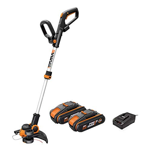 WORX Coupe Bordure sans fil avec Batterie, 2pcs...