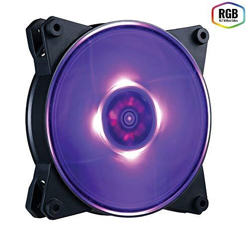 Cooler Master MasterFan Pro 140 Air Pressure RGB  - Ventilador de PC (Carcasa del Ordenador, Ventilador, 14 cm, 650 RPM, 1550 RPM, 6-20 dB Max.)