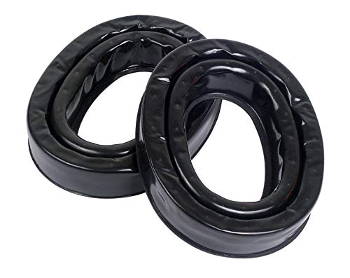 3M Personal Protective Equipment PELTOR Camelback Gel Sealing Rings HY80, Comfort Replacement Earmuff Cushions, Black