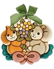 THUN - Forma ardillas con ramo de flores.