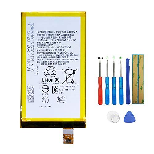 Swark LIS1594ERPC Akku für Sony Original Xperia Z5 compact E5803 E5823 with Tools