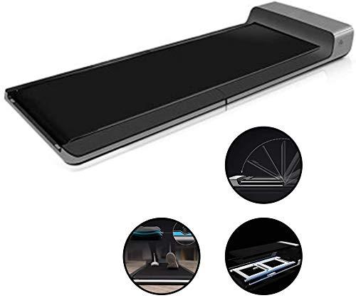 XDHN Treadmills Multifunctionele Wandelmachine Wandelmachine Xiaomi Ecologische Ketting Tablet Wandelmachine Kleine Smart Walking Machine Voor Huishouden (Kleur : Grijs, Maat : 143 * 55 * 13Cm)