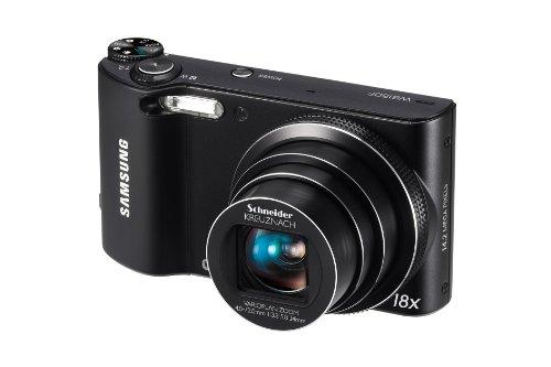 Samsung WB150F Long Zoom Smart Camera - Black...