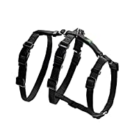 Additional stomach strap making it almost impossible for the dog to escape the harness. 7 way adjustable to ensure perfect fit Front strap to fit 38-61cm