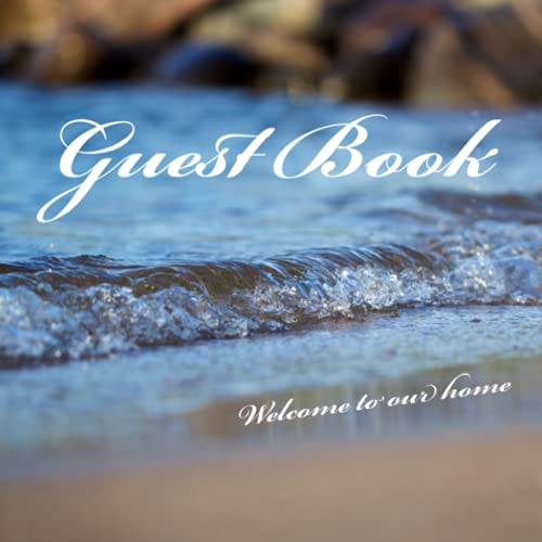 Real Estate Investing Books! - Guest Book: Welcome book for your guest to share memories during the stay at your beautiful vacation property
