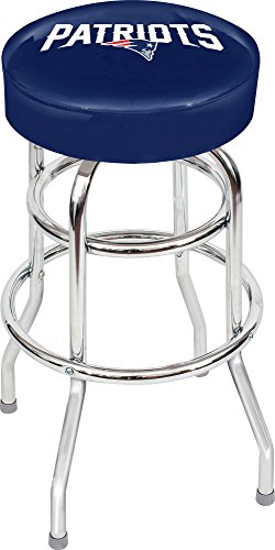 Imperial Officially Licensed NFL Furniture: Swivel Seat Bar Stool, New England Patriots