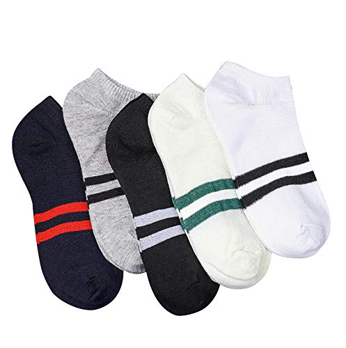 Zeagro Low-Cut, Sportsocken 5er Pack, Sommer Socken Online-Shop Stiefel Socken Herren Socken