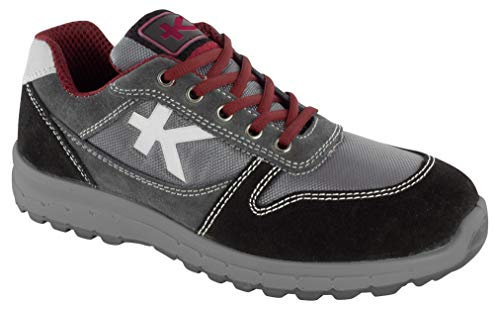 Kraftwerk Derby Chaussures de sécurité Unisexe Gris 43