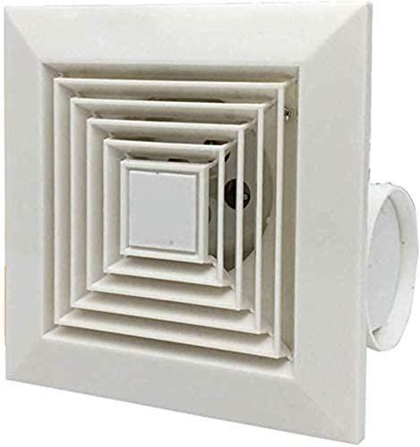 LITING Ventilador de ventilación doméstico Baño Poderosa De Techo Ventilador De Ventilación De Cocina con Conductos De Escape Extintor Impermeable Mudo del Ventilador De 12 Pulgadas