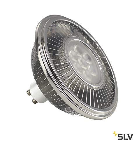 SLV LED, GU10 111mm 30° 2700K Leuchtmittel, Aluminium, 13 W, silber
