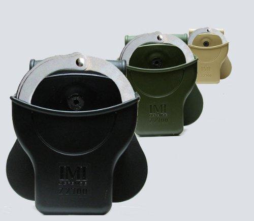 La IMI Defense polímero esposas bolsa. Desert Tan