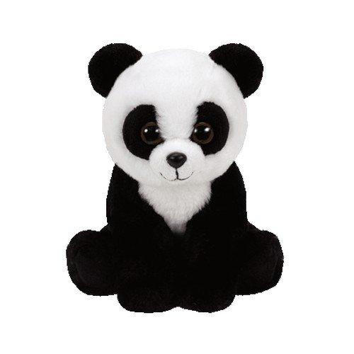 Ty - TY41204 - Beanie Babies - Peluche Baboo le Panda 15 cm