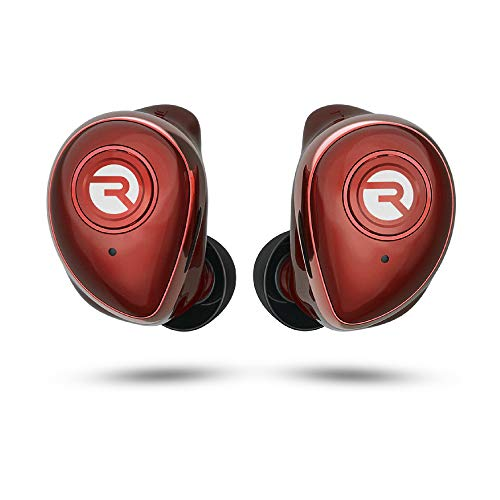 The Performer Raycon Bluetooth Wireless Earbuds with Microphone - E55 True Wireless Bluetooth Earbuds - Red