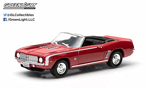 Motor World 1969 Chevrolet Camaro SS (Red) 2015 Series 13 American Edition 1:64 Scale Die-Cast Vehicle