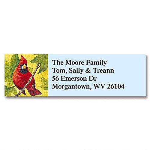 Birds of America Self-Adhesive, Flat-Sheet Classic Address Labels (12 Designs)