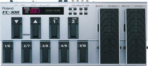 Roland FC-300 Midi Foot Controller Pedalboard
