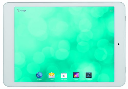 Blaupunkt 1081234705001 Polaris 19,5 cm (7,8 Zoll) Tablet-PC (Qualcomm, 1,3GHz, 1 GB RAM, 16GB HDD, Dual-Mali 400, 5 Megapixel Kamera, Android 4.2) weiß