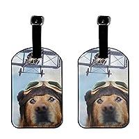 荷物タグ 萌犬(Moe dog) ネームタグ バッグ用ネームタグ ネームプレート スーツケース 紛失防止 旅行 出張