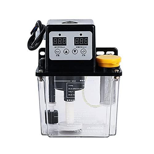 Weytoll Bomba de Aceite Lubricante 50ml/min 220 V 28W Bomba de aceite Lubricante automática Inyectores de Aceite Bomba de aceite eléctrica Sincronización Función de Alarma de Nivel de Aceite