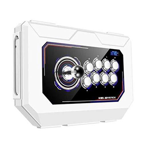 Wsaman Console Arcade retrò, Gioco Controllo della Luce Respiratoria A 8 Colori con Pulsanti Personalizzati Joystick Domestico per ComputerTV Proiettore Console