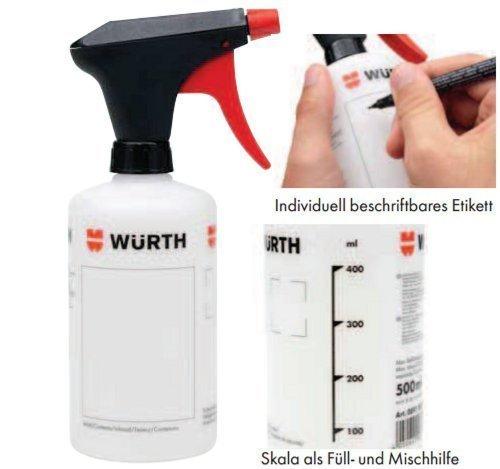 WÜRTH Pumpsprühflasche 0,5 L