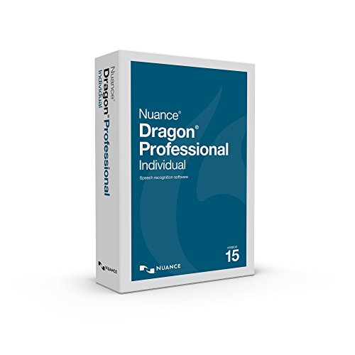 Dragon Professional Individual 15, Dictate Documents and Control your PC – all by Voice, [PC Disc]