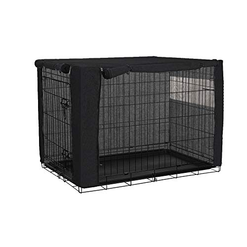 chengsan Funda para jaulas de Perro, para jaulas de Alambre, poliéster Duradero, Resistente al Viento, para caseta de Mascotas