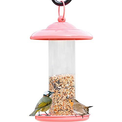 DHTOMC Vogelvoerstation voor vogels, vogelvoer, vogelvoer, vogelvoer, vogelvoer, vogelvoer, gemakkelijk te reinigen en te vullen