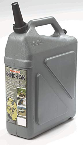 Reliance Rhino-Pak Heavy Duty Water Container (Grey, Medium)