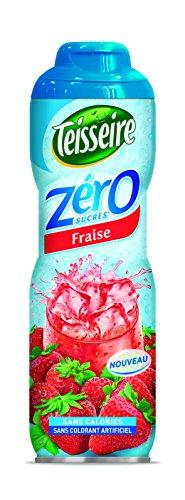 Teisseire Sirup 0% Zucker Erdbeere - 0,6L