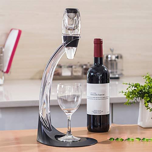 DHHZRKJ Aireador y vertedor de Vino, decantador de Aire, Grifo de Vino Personal, vertedor de Vino oxigenante, Juego Navidad, cumpleaños, San Valentín o anfitriona