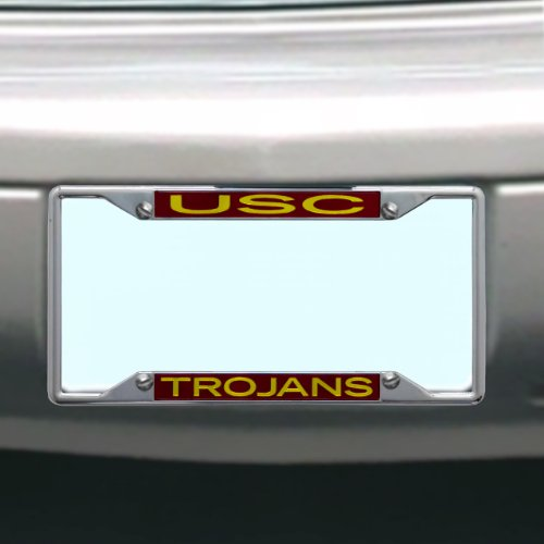 NCAA USC Trojans License Plate Frame
