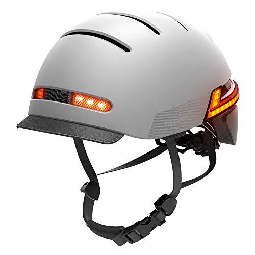 Casco Inteligente LIVALL, Cascos de Ciclismo Bluetooth con Luces traseras de señal...