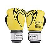 ZZBB 8-14 Guantes De Boxeo Profesional Oz Kickboxing Guantes Cuero De La PU Transpirable Y Cómodo Guantes De...