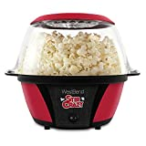 West Bend Stir Crazy Electric Hot Oil Popcorn Popper Machine Offers Large Lid for Serving Bowl and...