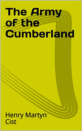 The Army of the Cumberland (English Edition)