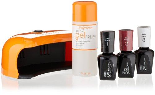 sally hansen gel nail kits Sally Hansen Salon Pro Gel Starter Kit, Wine Not, Pack of 1