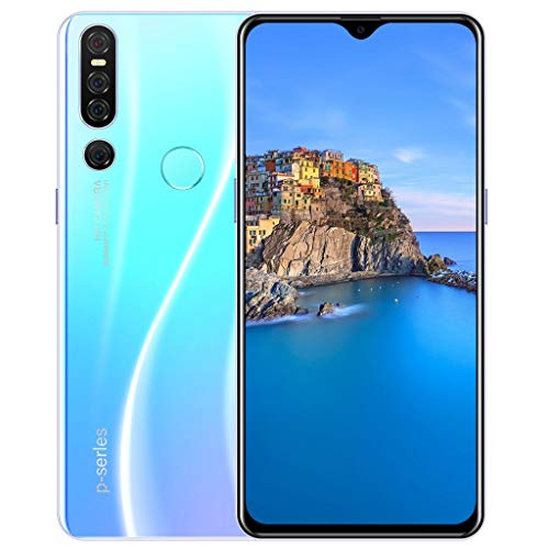 """Kariwell 2+32GB Android 9.1 Smartphone - Quad Core 6.3 inch Dual HD 500W Camera Smartphone with 3800Mah Battery WiFi Blueteeth GPS 3G Call 6.3"""" HD Touch Screen Mobile Phone [158×72.5×7mm]"""
