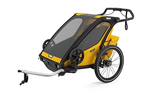 Thule Chariot Sport 2, Trailer Asseggino, Spectra Giallo, Uni, Unisex-Adulto