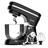 KUPPET Stand Mixer, 8-Speed Electric Mixer, Tilt-Head Food Mixer with Dough Hook, Wire Whip &...