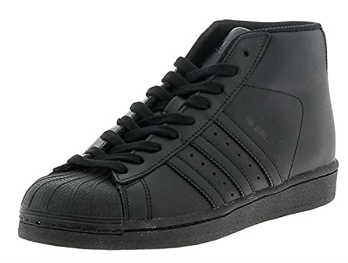 Adidas Promodel - Sneaker alte, da uomo, nero, 37