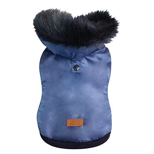 Croci Giubbotto Imbottito Fluffy Blue Cm.3520 g
