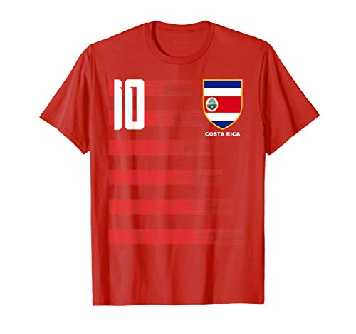 Costa Rica Futbol Soccer Jersey Shirt Camiseta T-Shirt