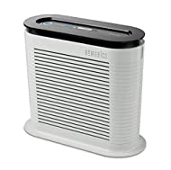 TRUE HEPA FILTRATION - HoMedics True HEPA filter air purifiers help you breathe easier by removing up to 99.97 percent of airborne allergens, bacteria and viruses as small as 0.3 microns. Unlike conventional filters, HEPA filters last up to 5 times l...
