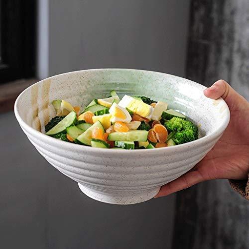 Ciotole di HUAHUA Ciotola in ceramica ramen insalatiera ciotola noodle grande ciotola zuppiera piatto ristorante ciotola retrò ciotola
