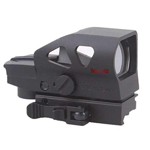 Vector Optics Ratchet Multi Reticle Green and Red Dot Sight with QD Mount